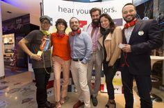 La gigante japonesa, Sony, presentó en Perú su nueva línea de audífonos de alta fidelidad, H.ear, y lo celebró con un fantástico evento.