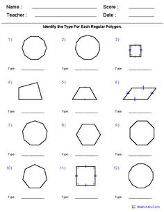 Printables Geometry Practice Worksheets geometry worksheets and shape on pinterest for practice study