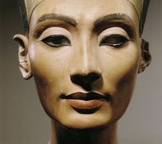 Nerfertiti. Ancient Egyptian Queen married to Pharaoh Akhenaten. They turned things upside down back then with  their religious revolution. About Year 14 of Akhenaten's reign, Nefertiti vanishes from the historical record.   I need to ask her what happened obviously and maybe get some tips of that killer eye liner look.