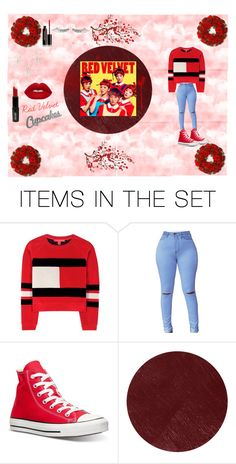 """""""Red Velvet """" by exo-kay on Polyvore featuring art"""