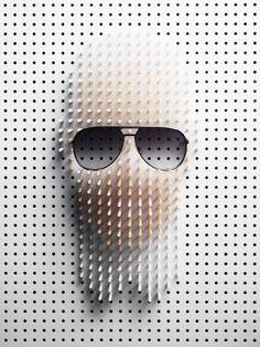 Philip Karlberg's pin art for Plaza magazine