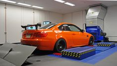 2012 BMW M3 baseline dyno pulls