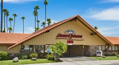 Howard Johnson San Diego State University Area San Diego This completely non-smoking hotel is located 1 mile from San Diego State University and within 20 minutes' drive of downtown San Diego. The hotel offers free WiFi in every room.