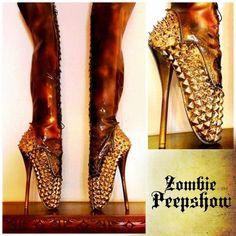 Zombie Peepshow shoepost.com