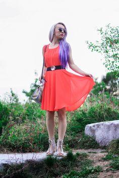 Jessica Luxe: Trendy Womens Thin Metal Circle Cat Eye Fashion Sunglasses 9174