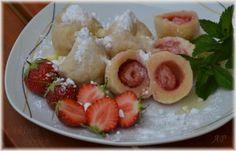Dumplings, Crepes, Sushi, Pancakes, Recipies, Ethnic Recipes, Food, Essen, Recipes