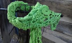 The Victorian - Green Scarf by ShipwreckCove for $25.00