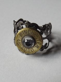'Rugar Bullet Ring or Winchester 45