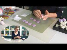 """Букет из зефирной глины """"Роза"""" ч4/ Flower clay craft tutorial """"Rose' Part4"""