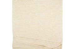 Oatmeal Beige and Cream Narrow Stripe Knit Jersey Fabric 40
