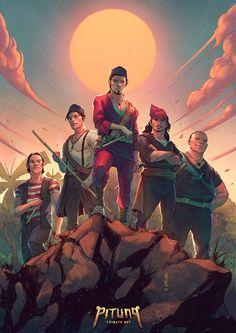 Si Pitung - The 5 Forgotten Heroes Independent Day, Fighting Drawing, Character Art, Character Design, Indonesian Art, Art Inspiration Drawing, Smart Art, Geek Art, Chalkboard Art