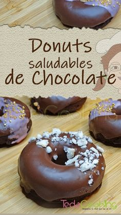 Sugar Free Recipes, Gluten Free Recipes, Sweet Recipes, Vegan Recipes, Cooking Recipes, Friend Recipe, Chocolate Donuts, Microwave Recipes, Healthy Desserts
