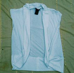 White Vest No flaws or stains. Perfect for the summer time! attention Jackets & Coats Vests