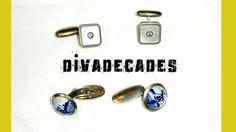vintage cufflinks  Windmill cufflinks  mens by DivaDecades on Etsy