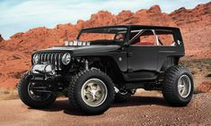 Jeep Debuts 7 Concept Vehicles