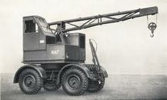 Coles EMA Mark II mobile crane Diesel Punk, Strange Things, Crane, Ds, Freaky Things