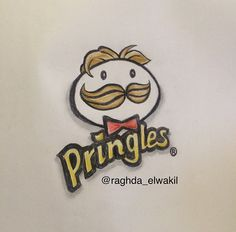 2015 pringles logo drawing by me.. :)