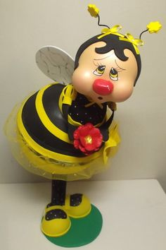 Bumble Bee doll made of foam sheets