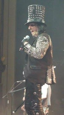 Alice Cooper ND State Fair With Ted Nugent  TJ broke his nose 7-2003