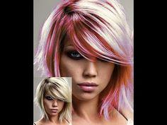 Zmiana koloru włosów w Gimp 2.8