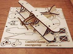 Constructor. Biplane. от WoodMari на Etsy