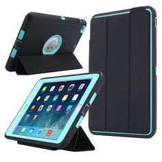 For iPad Mini 1/2/3 Retina Kids Safe Armor Shockproof Heavy Duty Silicone Hard Case Cover w/Screen Protector Film+Stylus Pen