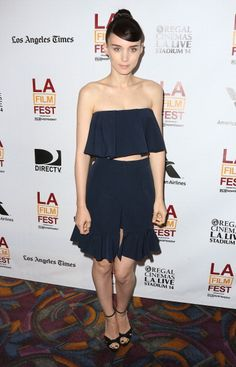 """Michelle Obama in Carolina Herrera, Natalie Portman in Dior and More: Rooney Mara in J.W. Anderson at the 2013 Los Angeles Film Festival screening of IFC Films' """"Ain't Them Bodies Saints"""""""