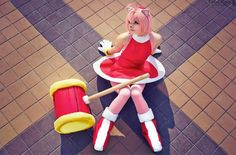 Amy Rose #Sonic #cosplay