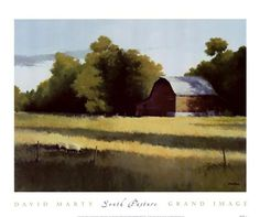 david marty art | David Marty - South Pasture - art prints and posters