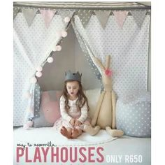 Live the rabbit Play Houses, Little Ones, Tent, Sweet Home, Handmade, Baby Rooms, Rabbit, Live, Babies Rooms