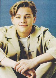 Leonardo DiCaprio - so cute! Leonardo Dicapro, Young Leonardo Dicaprio, Titanic, Hollywood Actor, Beautiful Boys, Actors & Actresses, Hot Guys, Handsome, Celebs