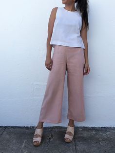 summer clothing fashion funkis pink pink pants scandinavian style