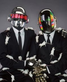 Daft Punk by Mondino    French never looked so good..