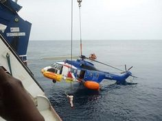 Mimi's Place: UPDATE- How Our Helicopter Landed on Water - Brist...