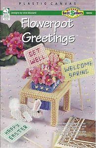 howb #186032 Flowerpot Greetings 'cover only'