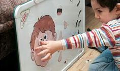 Jugando con las partes de la cara ~ Educación Preescolar, la revista