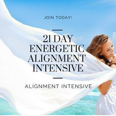 Right Now it's FREE - 21 Days of Energetic Tools and Processes to help you create Greater Alignment http://www.elizabethpfeiffer.com/alignment-signup/