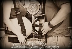 Firefighter maternity photo Firefighter Pregnancy Announcement, Firefighter Baby, Firefighter Pictures, Firefighter Engagement, American Firefighter, Maternity Poses, Maternity Pictures, Maternity Photography, Baby Pictures