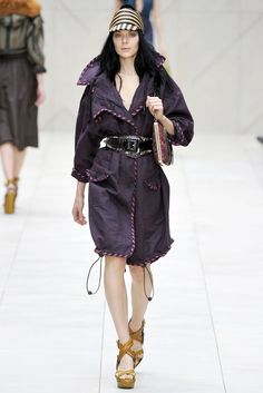 Burberry Prorsum Spring 2012 Ready-to-Wear Collection Slideshow on Style.com