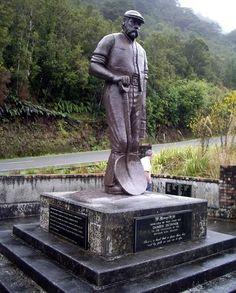 Brunner coal mine disaster memorial | NZHistory, New Zealand history ... Wake Island, Federated States Of Micronesia, Coal Miners, Kiwiana, Easter Island, Solomon Islands, Cook Islands, Papua New Guinea, Popular Culture