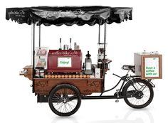 Run Your Own Coffee Bike A Mobile Shop With Unique Design This Is Flexible Business Opportunity In The Lucrative Sector