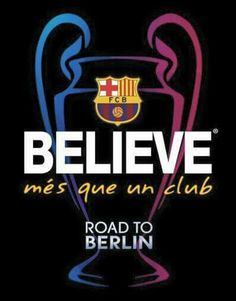 Fc Barcelona, Believe, Messi, Suarez & Neymar Fc Barcelona, Lionel Messi Barcelona, La Champions League, Soccer Art, Soccer Teams, Messi And Neymar, Best Football Team, Club, Peace