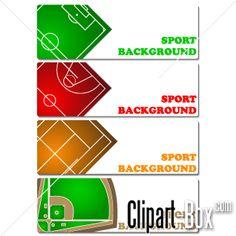 CLIPART SPORT FIELDS