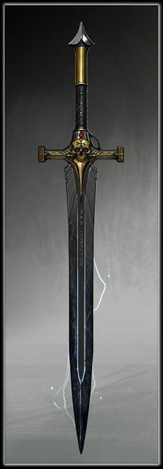 Schwert der Rache - legendär - 1 hand schwert gerade Fantasy Katana, Fantasy Blade, Fantasy Sword, Fantasy Rpg, Medieval Fantasy, Knight Shield, Knight Sword, Magic Armor, Arma 3