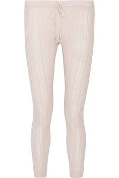 Eberjey is known for its effortless and flattering loungewear. Spun in a cable-knit pattern, these 'Elsa' pajama pants are cut for a relaxed fit and finished with a drawstring waist. Wear yours with the matching top.