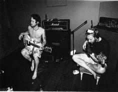 Chris Shiflett and Nate Mendel.