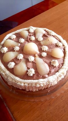 Peruterta, this old good- Peruterta, þessi gamla góða Pear cake. In memory were peruterts in all … - Mini Pastries, Homemade Pastries, Bread And Pastries, Cheescake Recipe, Bread Cake, Sweet Cakes, Cake Recipes, Food And Drink, Cooking Recipes