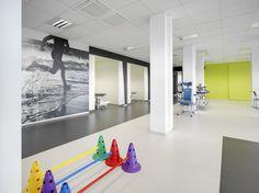 Architime - Revalidatie Centrum UZ Vesalius te Tongeren - Architect medische praktijk, verbouwen medische praktijk, inrichting medische praktijk, Architectuur, Valerie Cesar