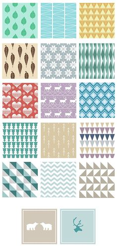 MOTIFS SCANDINAVES – Wild Creative