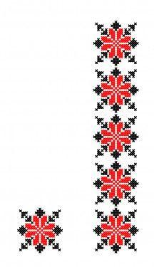 Cross Stitch Cushion, Cross Stitch Art, Cross Stitch Borders, Cross Stitch Designs, Cross Stitching, Cross Stitch Patterns, Hand Embroidery Design Patterns, Hand Embroidery Videos, Folk Embroidery